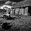 © Uģis Niedre. Before celebrations... Balvi region. Daugasne, 1982