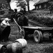 © Uģis Niedre. Preparation works before the Midsummer Eve. Vecpiebalga, Veveri, 1979