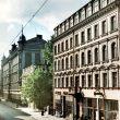 Dominiks Gedzjuns. Kirova (now Elizabetes) Street in Riga, late 1950-ies