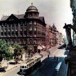 Dominiks Gedzjuns. K.Barona Street in Riga, late 1950-ies