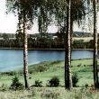 Dominiks Gedzjuns. A lake, late 1950-ies