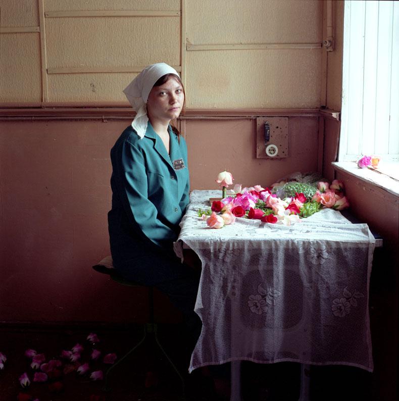 Michal Chelbin. Nadia. Women's prison, Ukraine, 2010