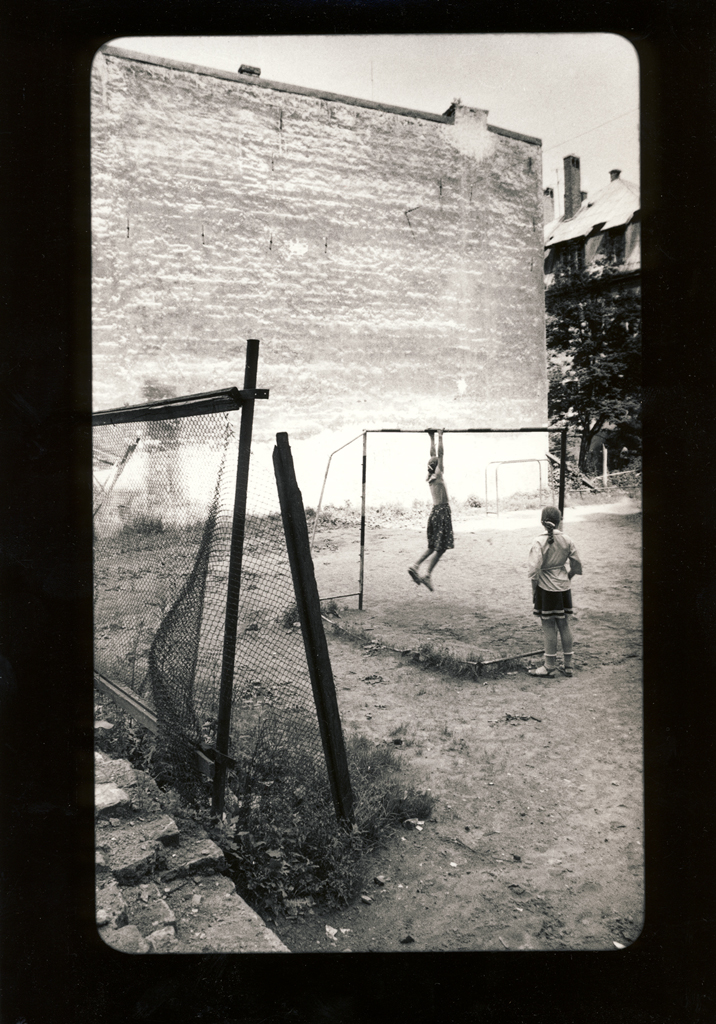 "Egons Spuris. From the series ""Riga in Proletarian suburbs at the end of the 19th century and the beginning of the 20th century"". 1970-ies. Collection of the Latvian National Museum of Art"