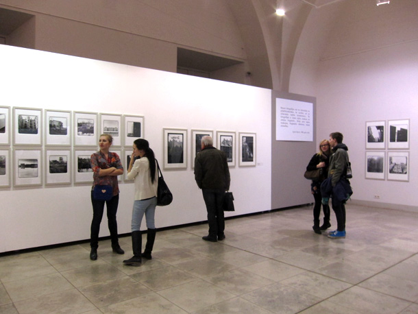 A view from the exhibition at the Arsenal. Photo by Arnis Balčus