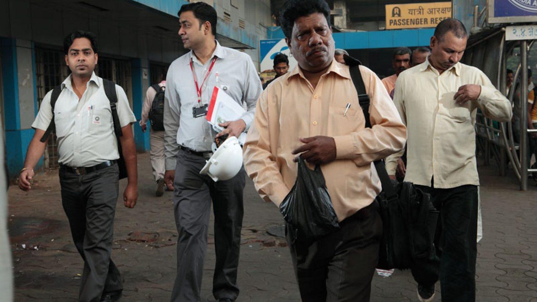 "Richard Rowland. From the series ""Mumbai - a modern life"""