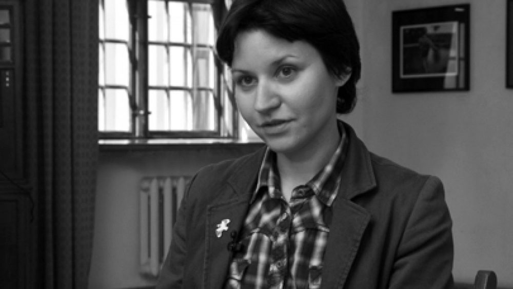 Alexandra Demenkova. Photo by Astrīda Meirāne