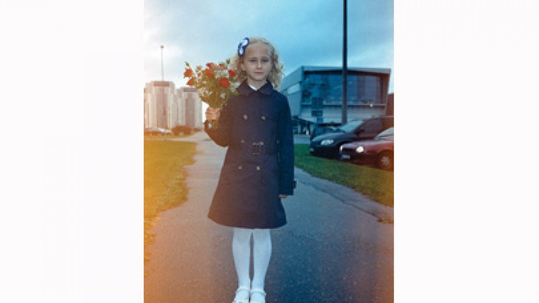 """Ieva Epnere. From the series """"1 September"""", 2012"""