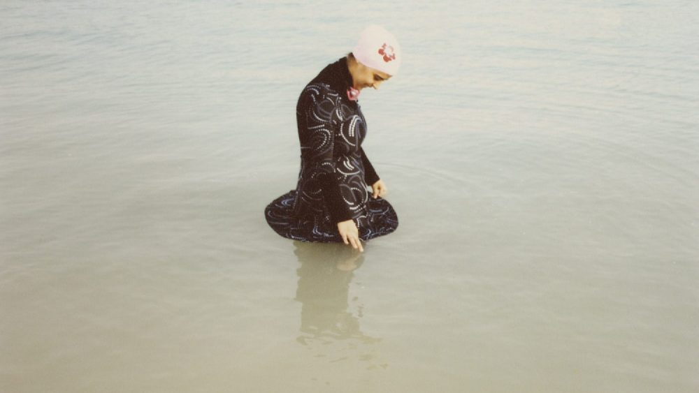 Olivia Arthur. Diana bathing in her Islamic swimsuit. Jeddah, 2009