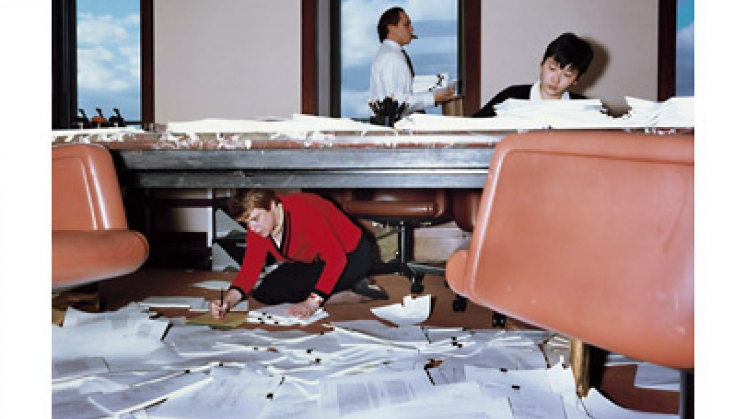 Lars Tunbjork. Lawyers office, New York, 1997