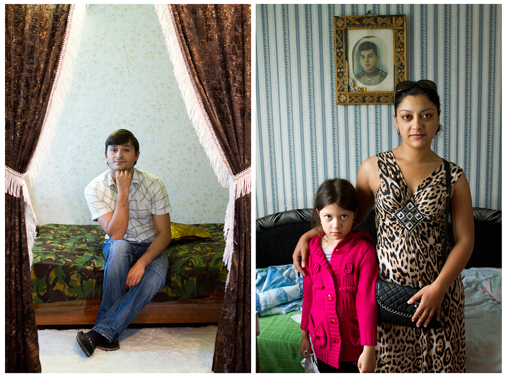 "Annika Haas. From the series ""We, the Roma"""