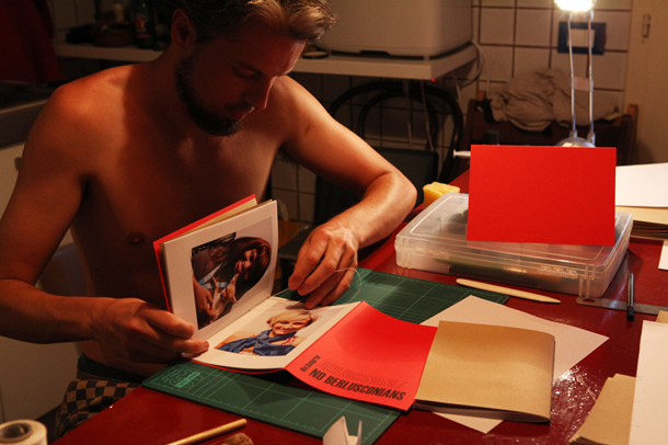 Making of the book 'Berlusconians / No Berlusconians""