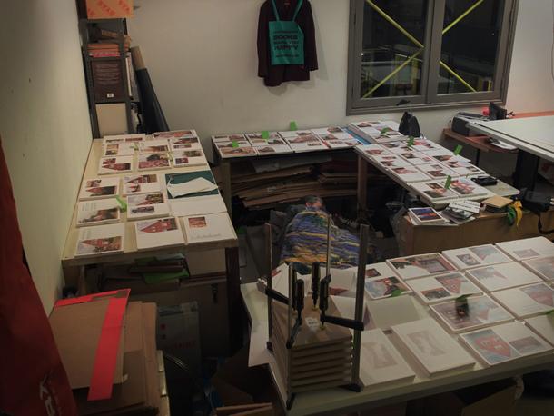 "Making of the book ""Leer"""