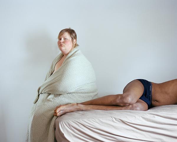"Jen Davis. Steve and I, 2006. From the series ""Self-portraits"""