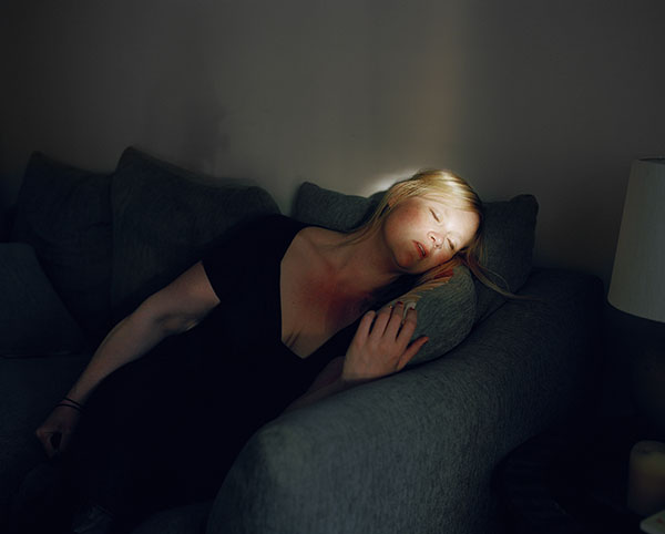"""Jen Davis. Untitled No.55, 2013. From the series """"Self-portraits"""""""