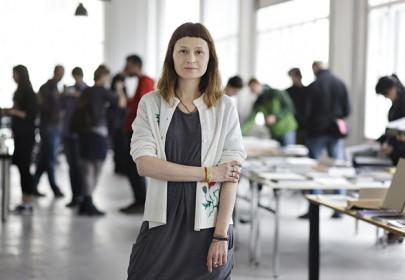 Ania Nałęcka. Photo by Andrejs Strokins
