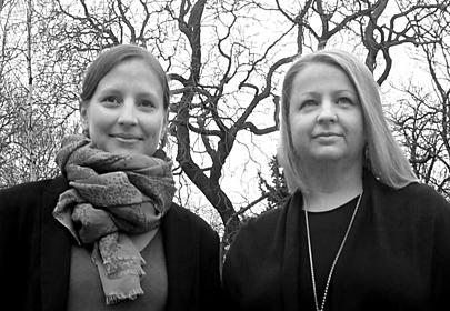 Annabel von Gemmingen and Anastasia Khoroshilova
