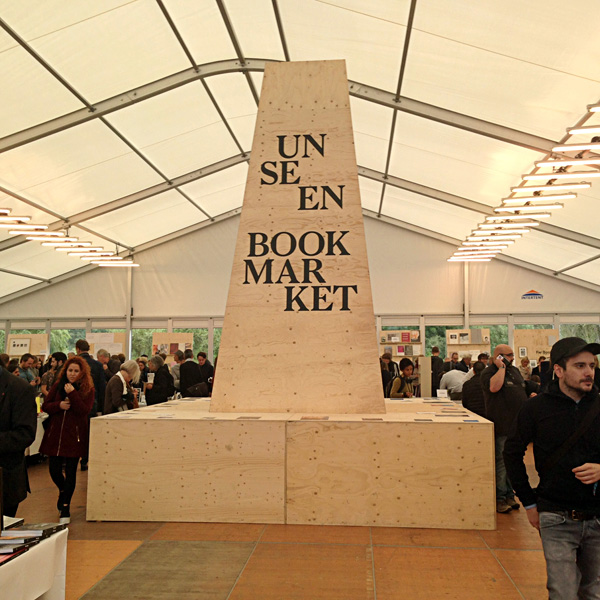 Unseen Book Market. Photo by Inga Erdmane