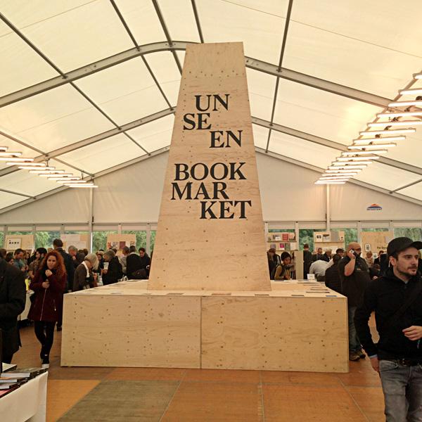 Unseen Book Market. Photo by Inga Erdmane
