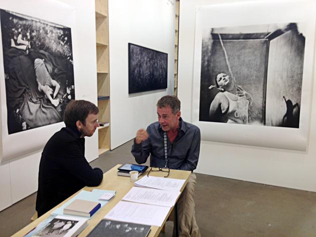 Klaus_Kehrer at Unseen. Photo by Inga Erdmane