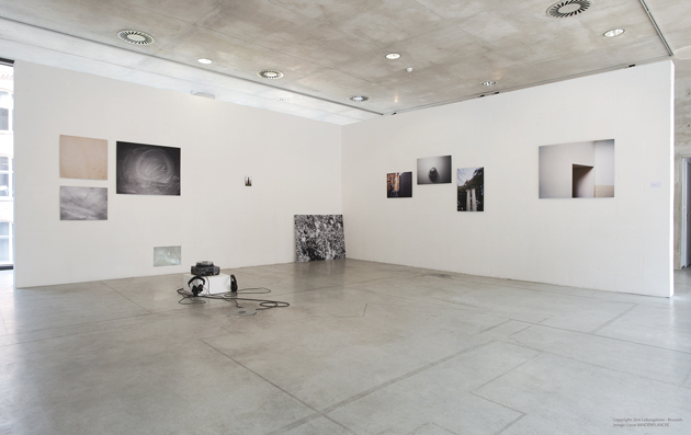 "A view from the project ""You can't have me for real"" at Sint-Lukas gallery in Brussels, 2014"