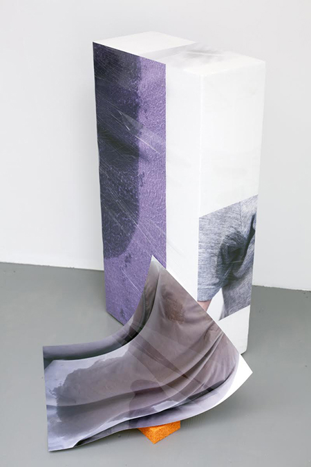 Sweaty Sculpture (slide), 2013