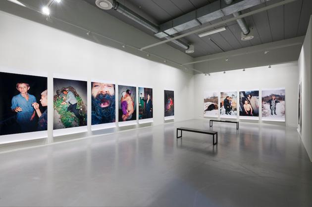 Boris Mikhailov at FOMU. Exhibition view