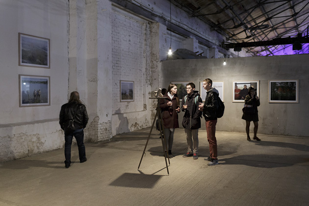 A view from Andrejs Strokins exhibition at the Month of Photography in Minsk. Photo by A. Strokins