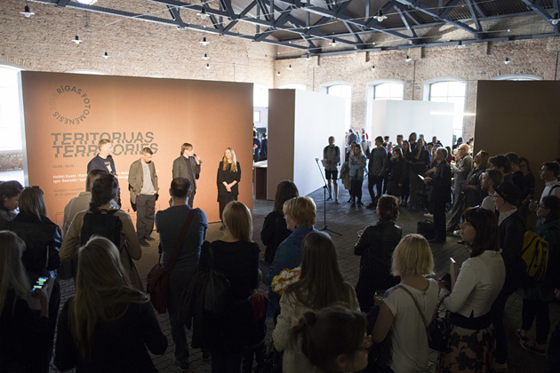 Opening of Riga Photomonth 2016 at the Railway Museum. Photo by Kristīne Madjare